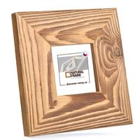 Rámeček na fotografie dřevěný 10x10 cm, NATURAL-FRAME
