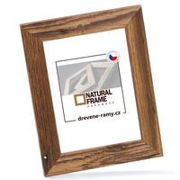 Fotorámeček dřevěný NATURAL-FRAME 15x20 cm