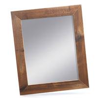 Dřevěný rám zrcadlo 40x50 cm, NATURAL-FRAME