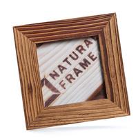 Dřevěný fotorámeček 10x10 cm, NATURAL-FRAME