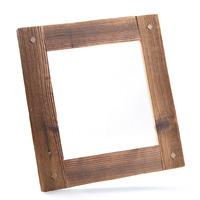 Dřevěný rám Antik s kolíčky 30x30 cm