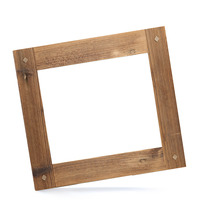 Dřevěný rám Antik s kolíčky 30x40 cm