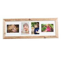 Dřevěný rám na 4 fotografie 10x15 cm, NATURAL-FRAME